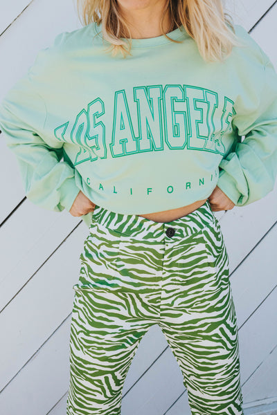 City Of Angels Pullover (green)