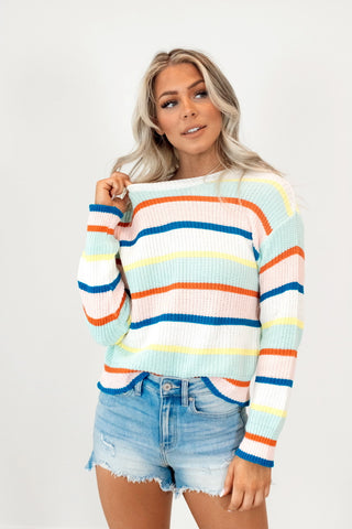 Ziggy Stripe Sweater