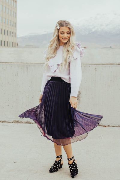 Night Vision Midi Skirt