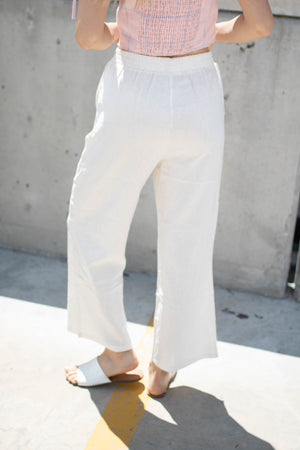 West Coast Pant in White