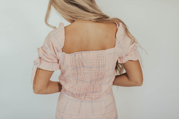 Wednesday Pink Set Top