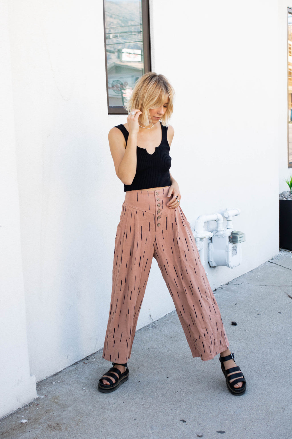 Desert Nights Pant in Clay
