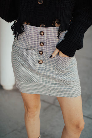 Uptown Plaid Mini