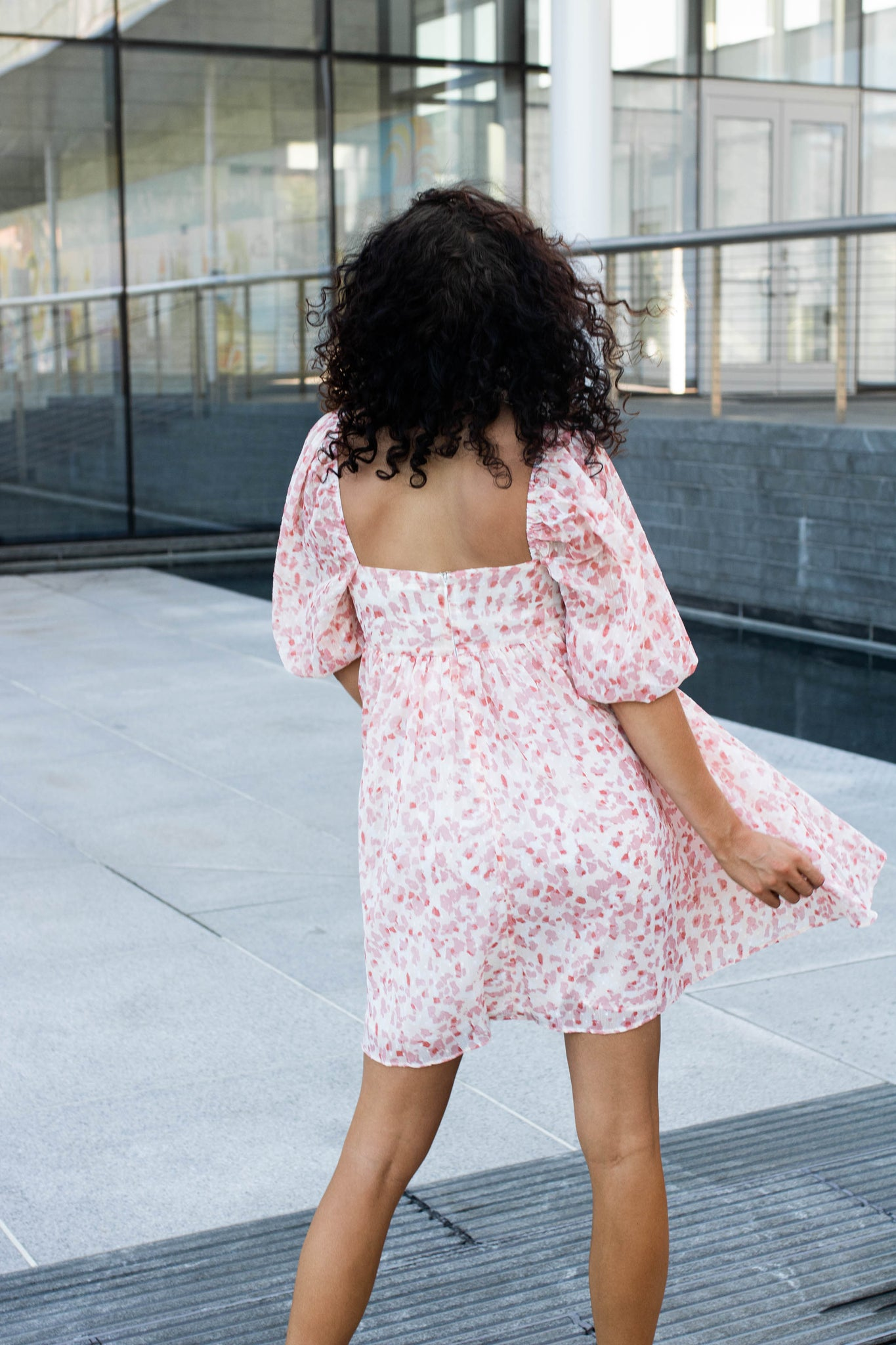 Wild About It Babydoll Dress