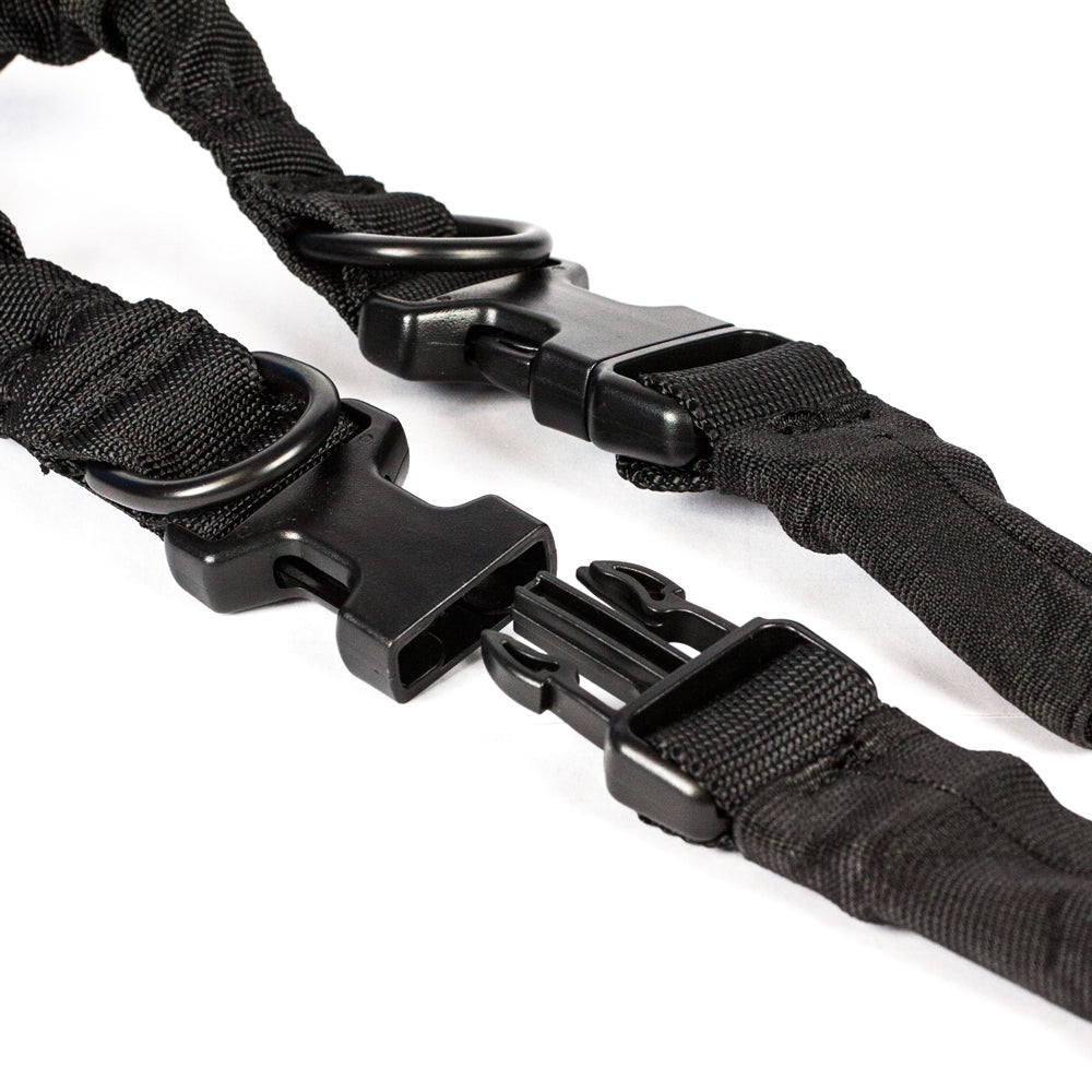 【Hunter Select】Heavy Duty Rifle Bungee Sling Two Point Dual Point- Black #00285