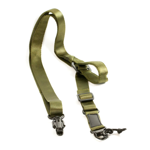 【Hunter Select】Quick Draw Convertible 1/2 Point Sling MS2 Black/Tan/Green #00289
