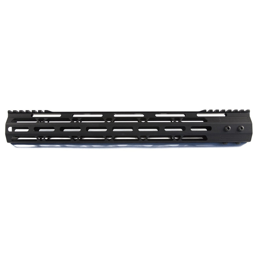 "【JE Machine Tech】Made in USA 15"" Aluminium MLOK Handguard #00539"