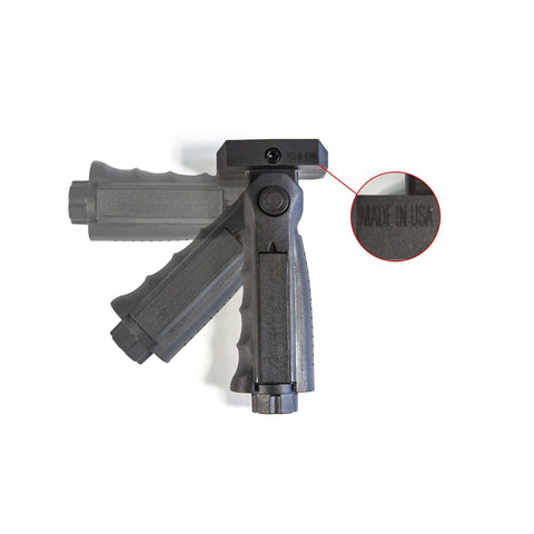 【J&E Machine Tech】Made in USA 5 Position Adjustable Polymer Vertical Grip #00492