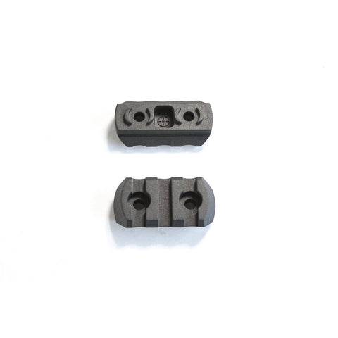 【J&E Machine Tech】Made in USA 1.5 inch(3 slot) Polymer MLok Section(2 Per Pack) #00472