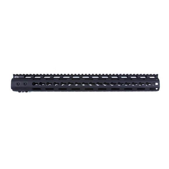 【JE Machine Tech】Made in USA Continuous Top Rail with Anti Rotate feature Gen-2 NSR Handguard 16.7