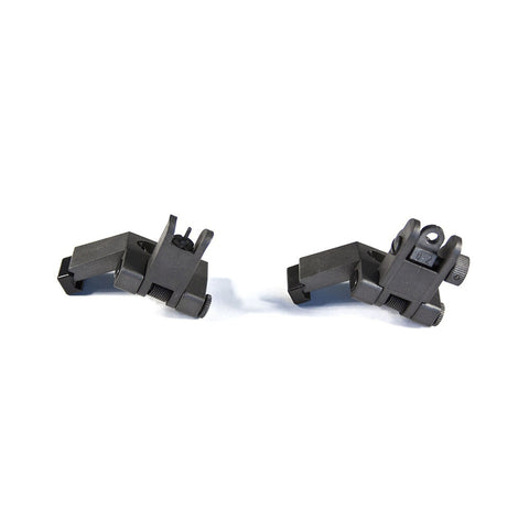 【JE Machine Tech】Made in USA 45 Degree Offset Flip Up Sight Kit - Black #00517