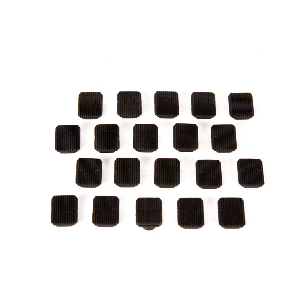 【Hunter Select】Keymod Square Slot Cover [Single Units] - Black or Tan (20pc) #00308