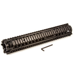 "【Hunter Select】1 Piece Handguard DDMK12 - 13"" + Forend Pistol Grip w/ storage(Black) Combo #00349"