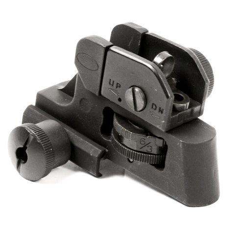 【Hunter Select】Enhanced A2 Accessories Post Fixed Iron Flat Black Tactical Sight - Rear #00247