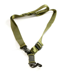 【Hunter Select】Quick Detach Convertible 1/2 Point Sling Black/Tan/Green #00289