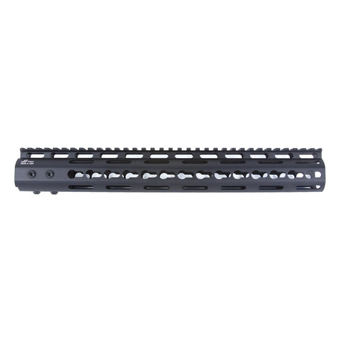 "【JE Machine Tech】Made in USA Continuous Top Rail with Anti Rotate feature Gen-2 NSR Handguard 13.5"" #00384"
