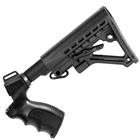 【Hunter Select】Mil Spec Adjustable Stock+Mossberg M500 Shotgun Pistol Grip Set #00336