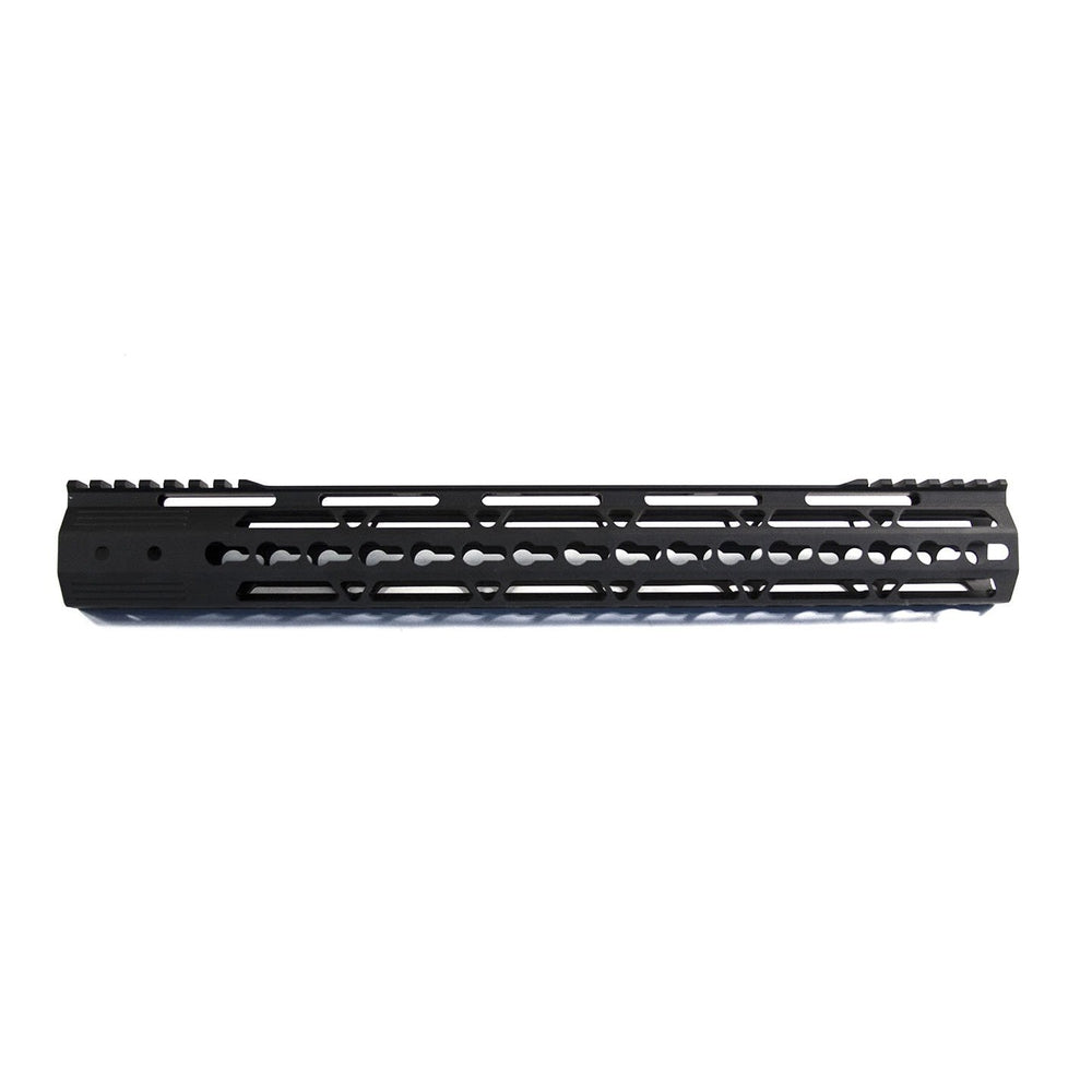 "【JE Machine Tech】Made in USA 12"" Aluminium Keymod Handguard #00543"