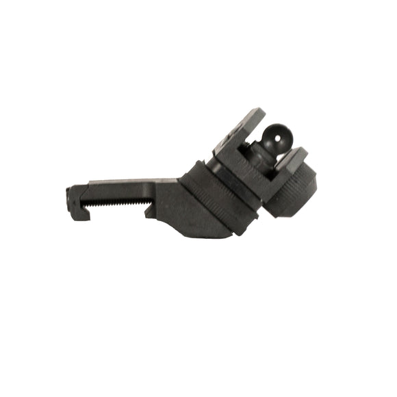 【JE Machine Tech】Made in USA Glass Filled Polymer 45 Degree Offset Rear Fixed Sight #00638