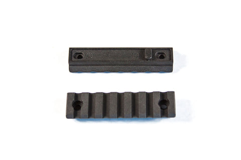 "【JE Machine Tech】Made in USA 3"" (7 slots) polymer Keymod rail section #00641"