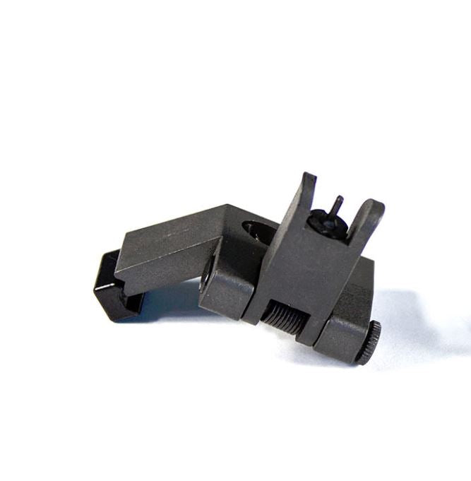 【JE Machine Tech】Made in USA 45 Degree Offset Front Flip Up Sight - Black #00639