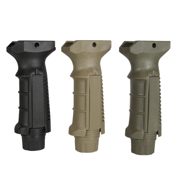 【Hunter Select】Ergonomic Ambidextrous Vertical Foregrip Tan and OD Green  #00478