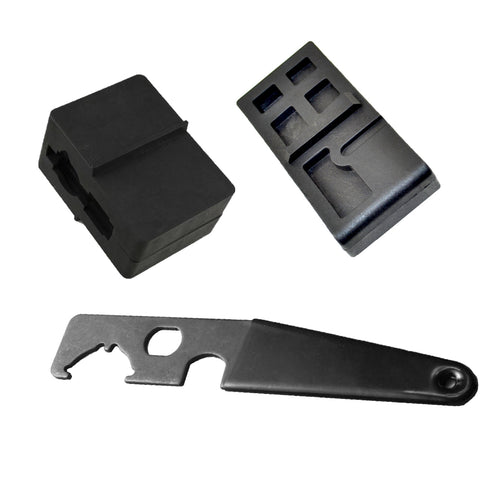 【Hunter Select】AR15/M16 Upper + Lower Receiver Vise Block + Enhanced Spanner Wrench Combo #00346