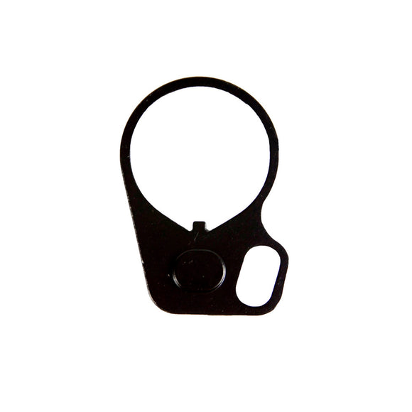 【Hunter Select】Black Single Loop End Plate Oval Sling Mount Adapter Ring - Right Hand #00402