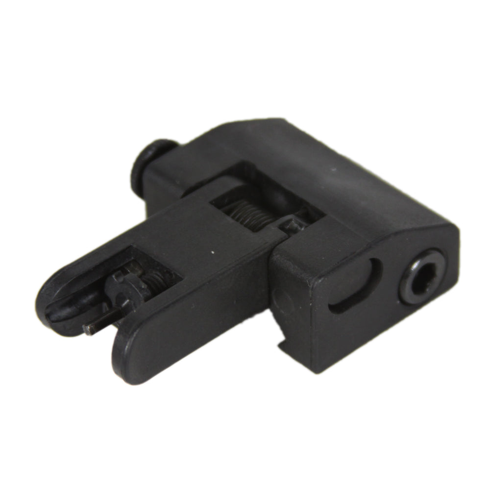 【JE Machine Tech】Made in USA AR15/M4/M16 Iron Flip Up Front Backup Battle Sights for Mounting #00357