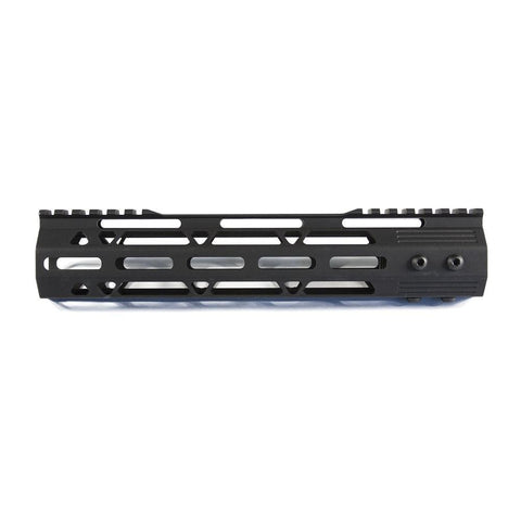 "【J&E Machine Tech】Made in USA 10"" Aluminium MLOK Handguard #00537"