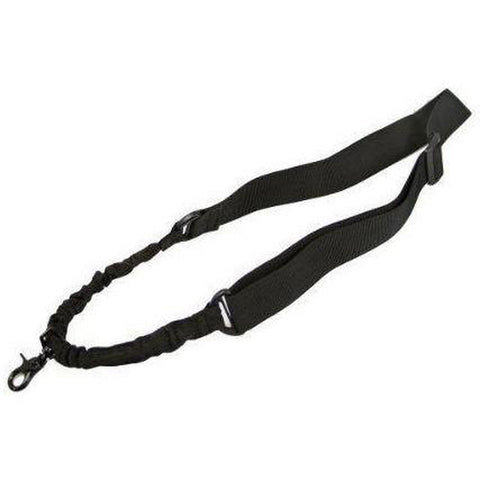 【Hunter Select】Tactical One Single Point Sling Entry Level 1pt Bungee Strap Black/ Tan/ Green #00286