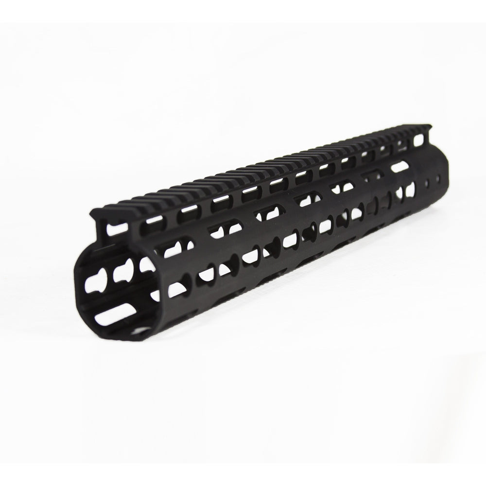 【J&E Machine Tech】Made in USA Continuous Top Rail with Anti Rotate feature Gen-2 NSR Handguard 13.5