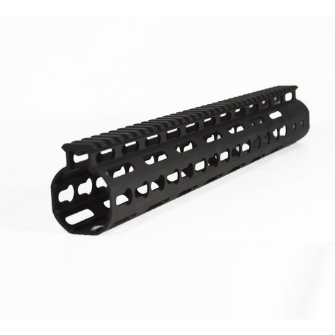 【JE Machine Tech】Made in USA Continuous Top Rail with Anti Rotate feature Gen-2 NSR Handguard 13.5