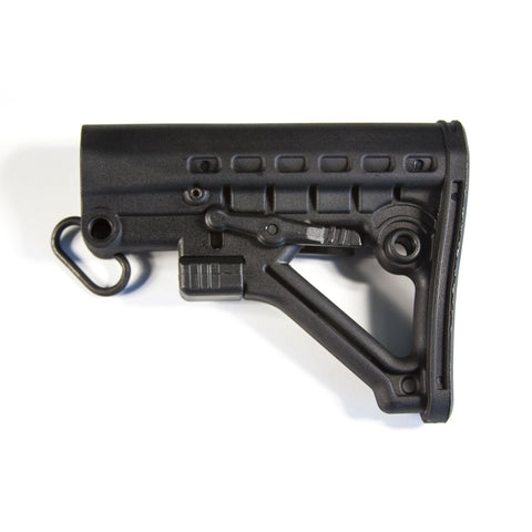 【JE Machine Tech】AR-15 Featureless Commercial Buttstock Made in USA Black #00462