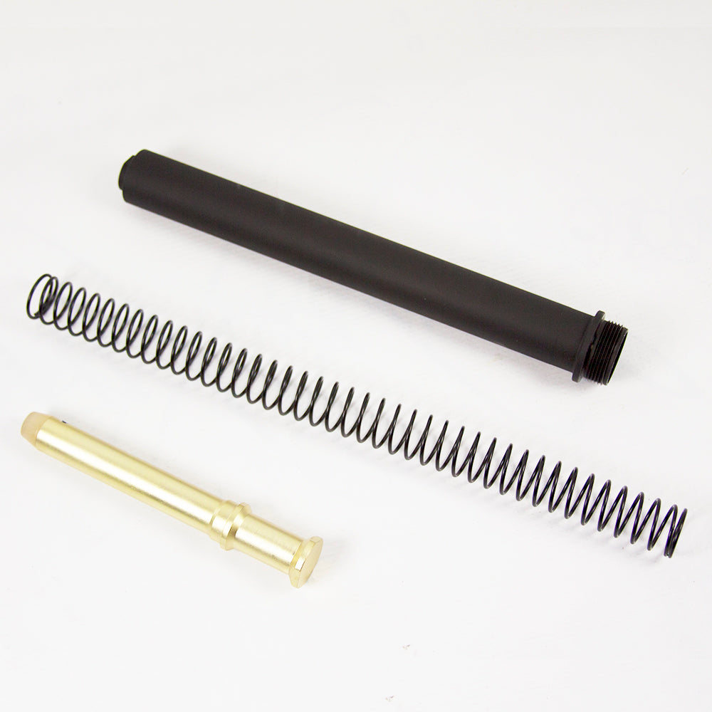 DPMS AR-15 A2 Rifle Buffer Tube/ JE Machine 6.3 oz Heavy Buffer/ Wolff XP Heavy Buffer Spring Assembly Kit  #00634