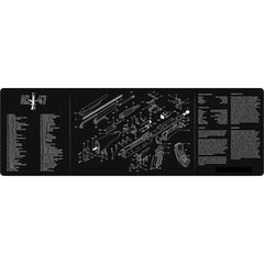 "【Hunter Select】12x36"" Cleaning Mat Pad ( AR15/ AK47 ) + Gunsmithing Tool Combo set B  #00373"