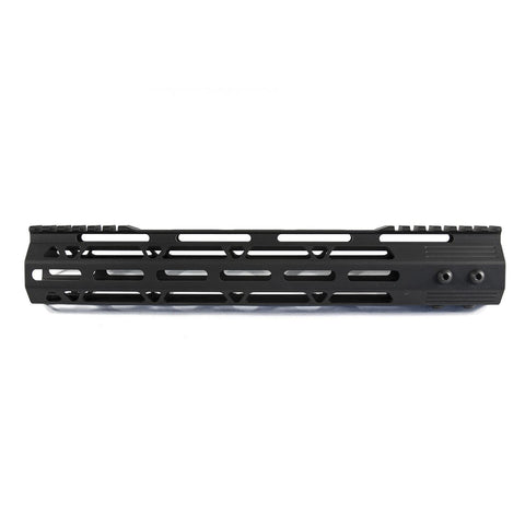 "【J&E Machine Tech】Made in USA 12"" Aluminium MLOK Handguard #00538"