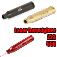 【Hunter Select】5Mw Laser Red Beam Dot Boresighter 4 Colors- 223 #00264