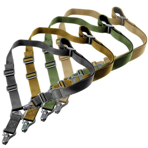 【Hunter Select】Quick Action Convertible 1/2 Point Sling MS3 Black/Tan/Grey/Green #00290