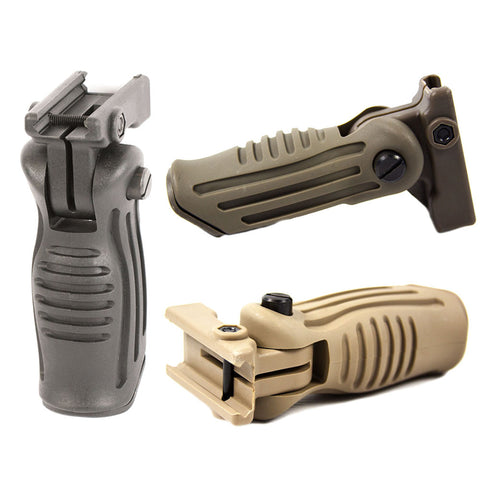 【Hunter Select】AR-15 3 Position Stubby Grip w/ Storage Compartment 3 Colors #00210