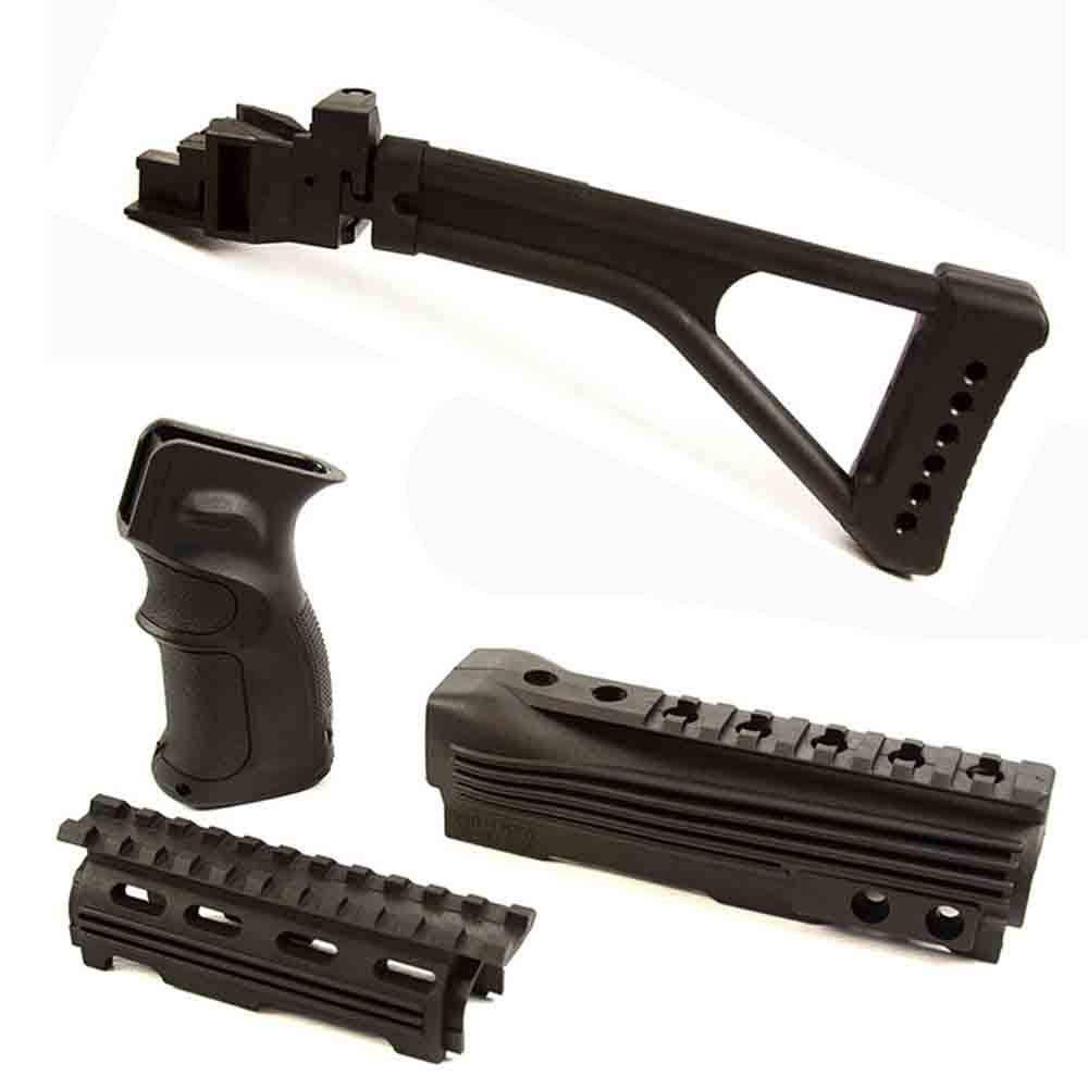 【JE Machine Tech】AK-47 Stock Tactical Furniture Set B - 922r Compliance # 00379