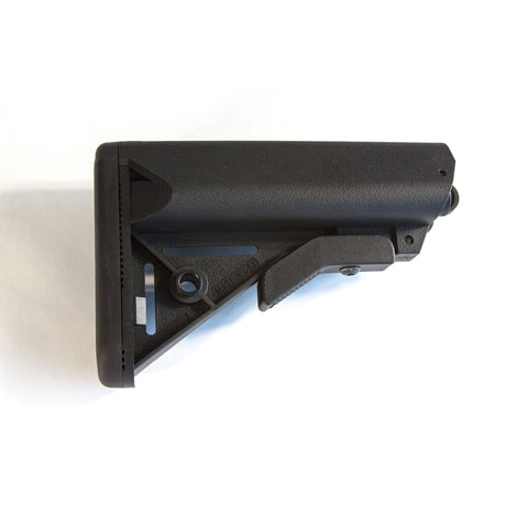 【J&E Machine Tech】Made in USA Mil'Spec AR Sporting Stock LM Black Made In USA California Compliant #00458