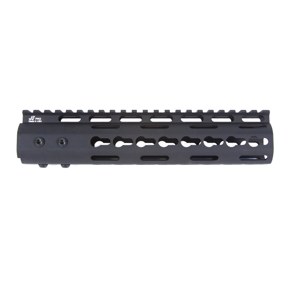 "【J&E Machine Tech】Made in USA Continuous Top Rail with Anti Rotate feature Gen-2 NSR Handguard 9"" #00535"