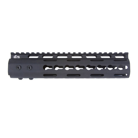 "【JE Machine Tech】Made in USA Continuous Top Rail with Anti Rotate feature Gen-2 NSR Handguard 9"" #00535"