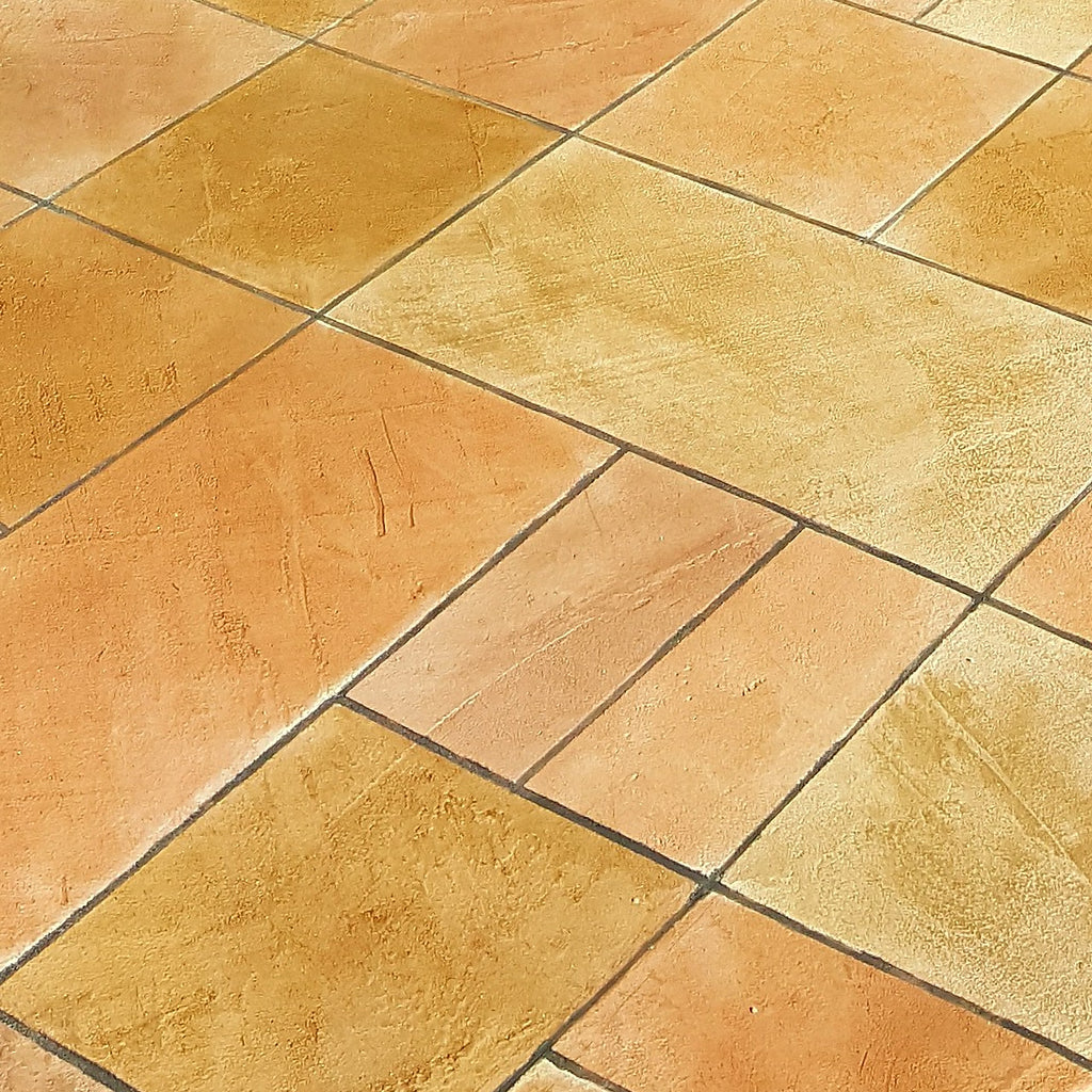 Bright Random Tile Pattern Flooring in Lubbock Texas