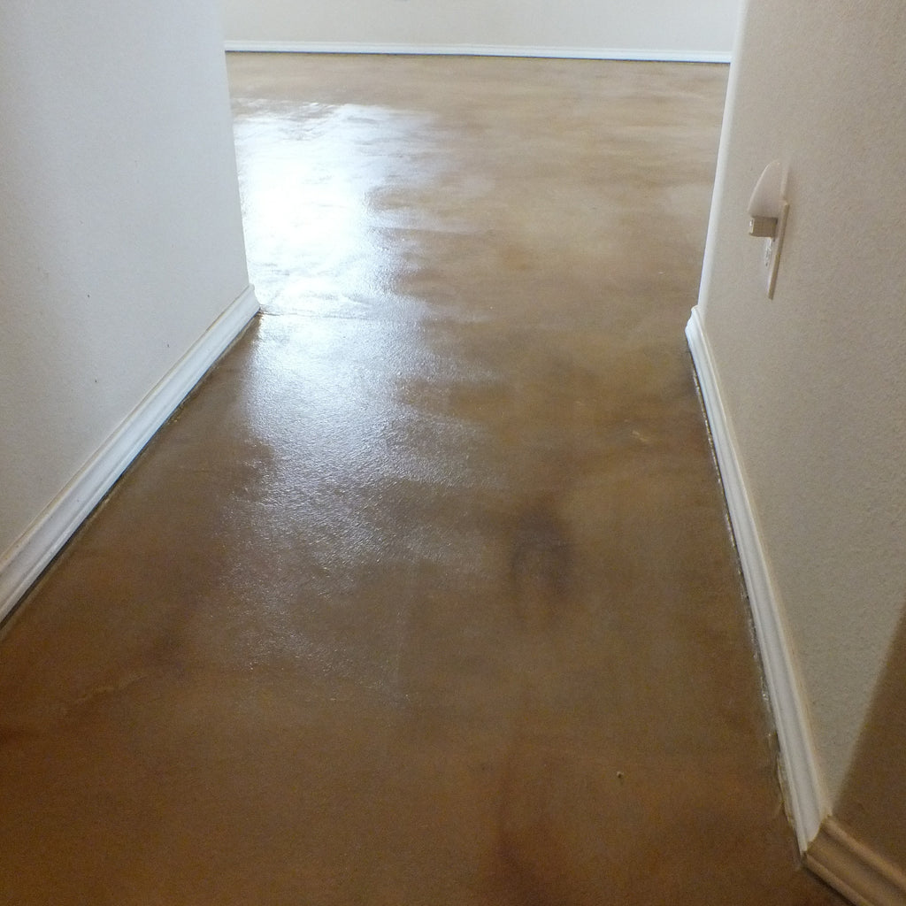 Acrylistain Acrylic Acid Stain Design | Lubbock Tile Flooring | Install Price Sq Ft
