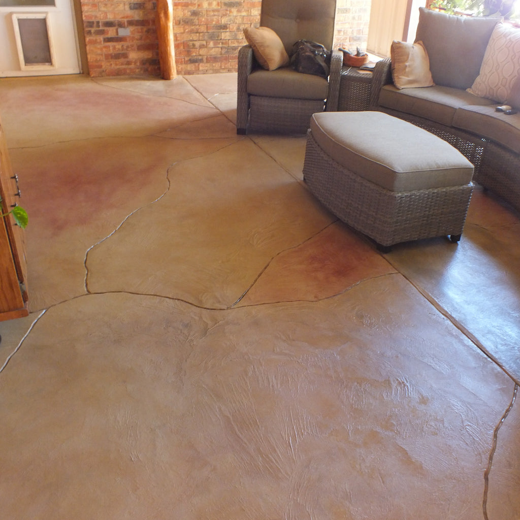 Decorative Flooring Residential and Commercial Lubbock Texas