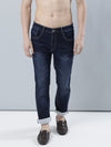 COBB Blue Washed Slim Fit Jeans