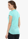 miss forever turquoise solid top