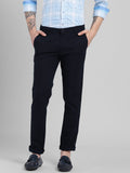 COBB Navy Blue Slim Fit Chinos